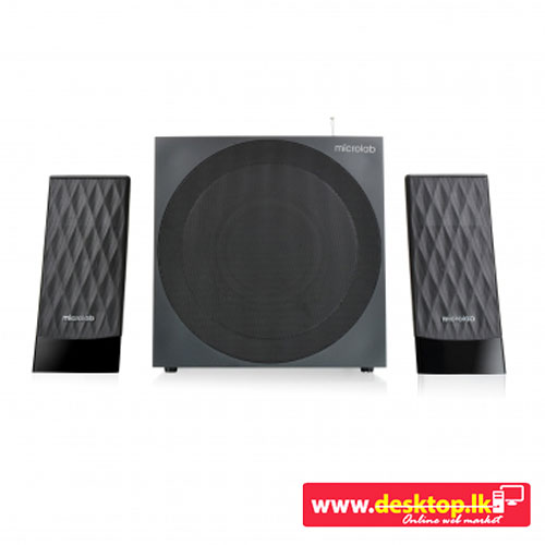 microlab m 300bt subwoofer 2 1 (bluetooth)